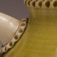 Ceramic glaze closeup by Sue McLeod