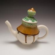 Ceramic teapot by Sue McLeod, 2013
