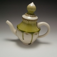 Ceramic teapot by Sue McLeod, 2013