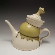 """Twee-pot"" ceramic teapot by Sue McLeod, 2013"