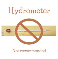 Why I Don't Use a Hydrometer to Measure Specific Gravity