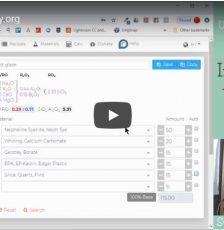 Intro to Glazy.org – Video Tutorial