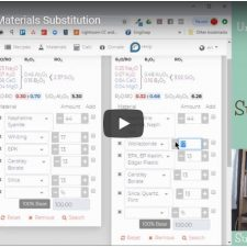 Material Substitutions with Glazy.org – Video Tutorial