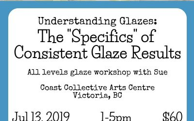 "The ""Specifics"" of Consistent Glaze Results – Workshop – Jul 13, 2019"