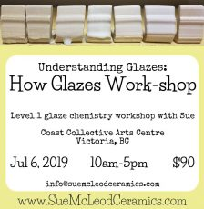How Glazes Work-shop Jul 6, 2019