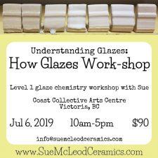 How Glazes Work-shop Jul 6, 2019