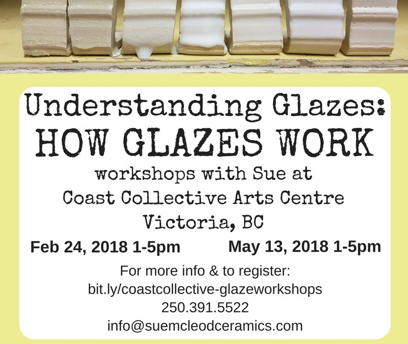 Understanding Glazes Workshop – Feb 24, 2018