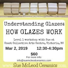 Understanding Glazes: How Glazes Work-shop Mar 2, 2019