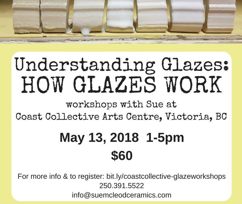 Understanding Glazes: How Glazes Work – workshop May 13, 2018