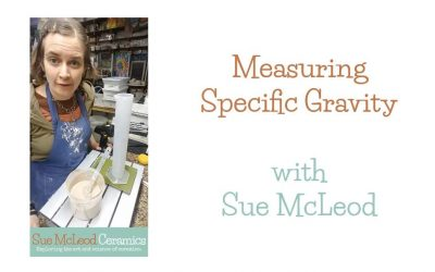 How to Measure the Specific Gravity of Your Glazes